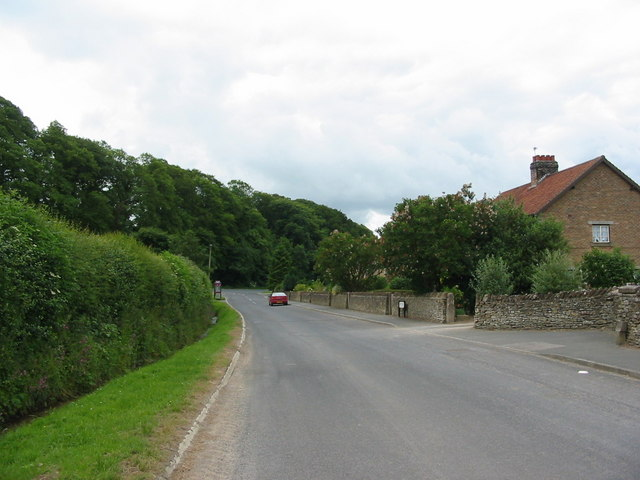 View from Ruston looking towards the A170