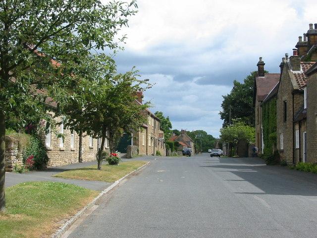 The attractive village of Hutton Buscel