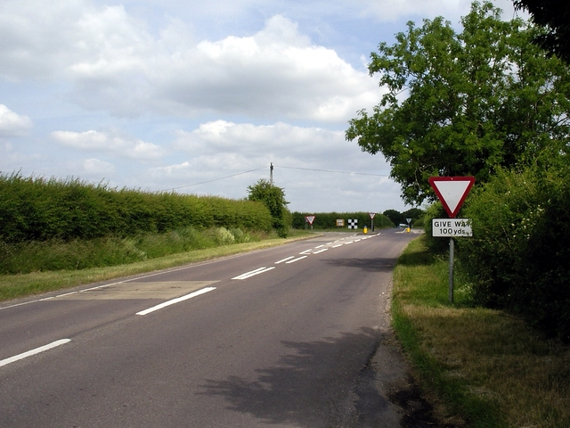 B3084 Salisbury Road approaches the A30