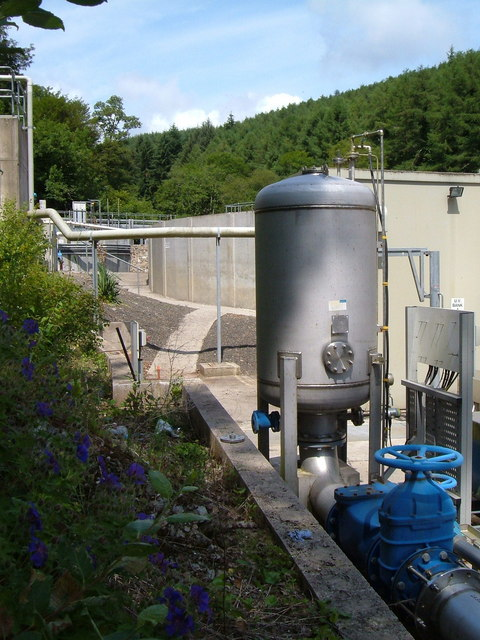 Sewage Works, Old Mill, Dartmouth