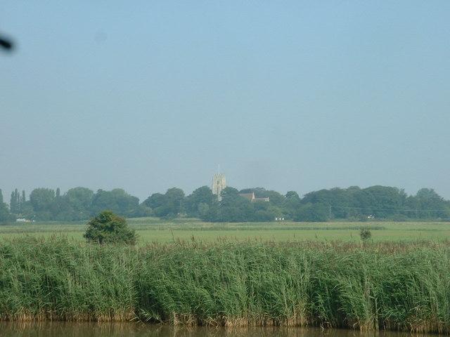 Looking towards Reedham Church
