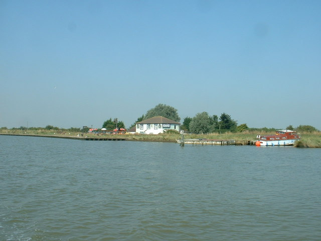 The Berney Arms from the River Yare