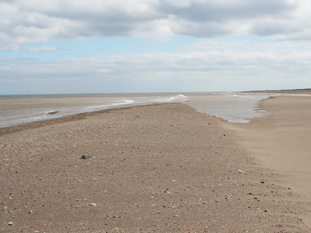 At the edge of the sand, near Seacroft