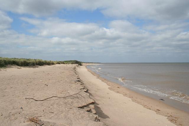 The beach at Seacroft