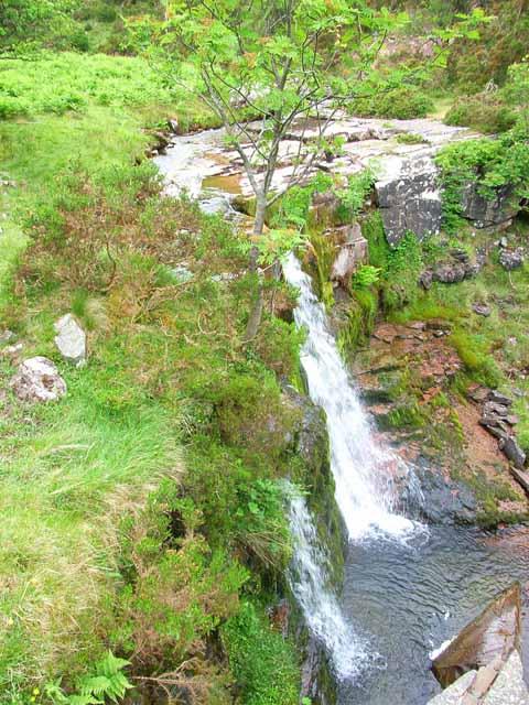 Waterfall on the Nant Menasgin