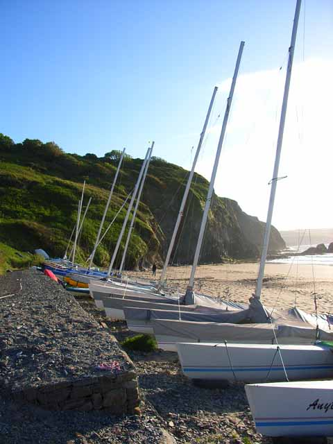 Boats at Tresaith
