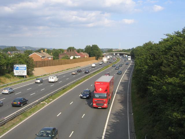 M20, Aylesford, Kent