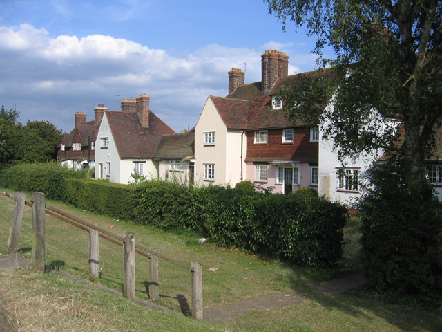 Houses along Station Road, Ditton, Kent