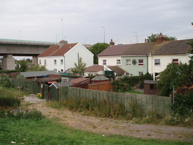 Houses by the bridge