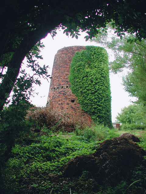 Old Windmill at Waxholme