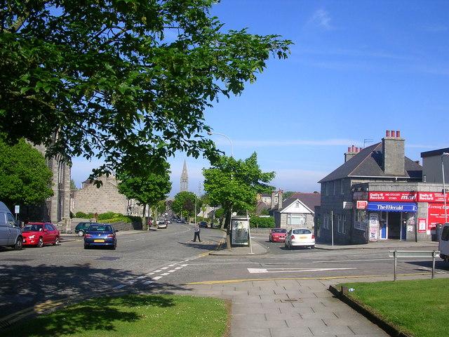 Midstocket Road, Aberdeen