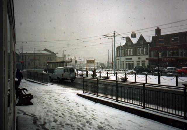 Cleveleys under snow