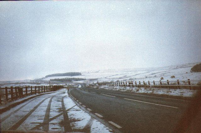 Wintery Grane Road
