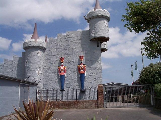 Guarding the Fun Fair, Littlehampton