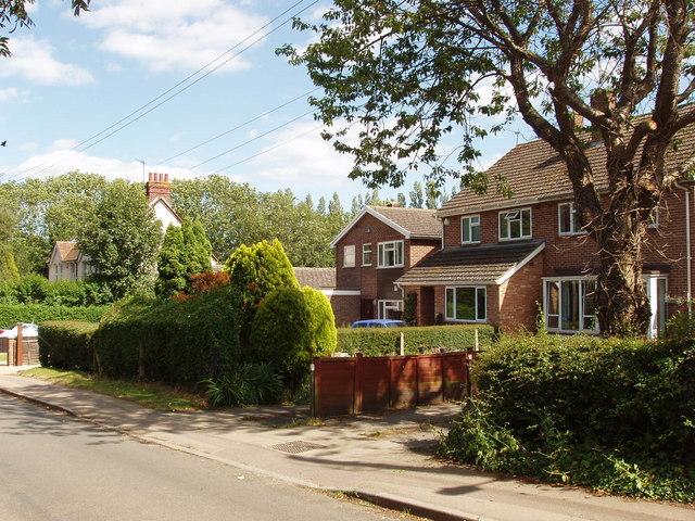 Houses in Littleworth, near Wheatley