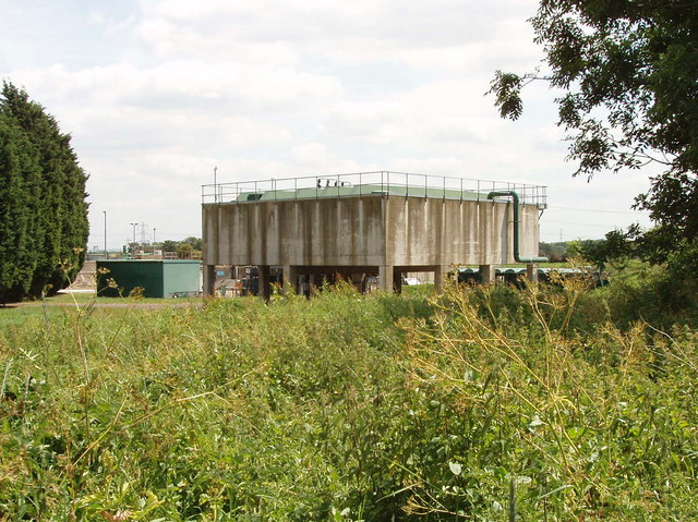 Oxford sewage treatment works