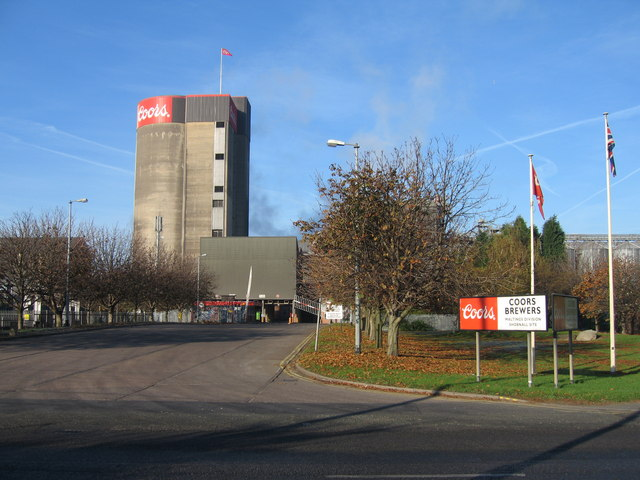 Coors Brewers Maltings, Burton upon Trent
