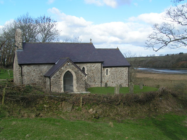 Haroldstone Chapel, Merlins Bridge
