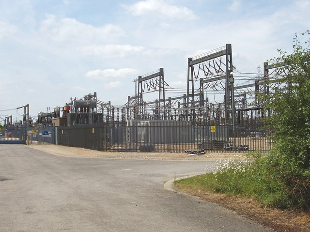 Cowley electricity sub-station