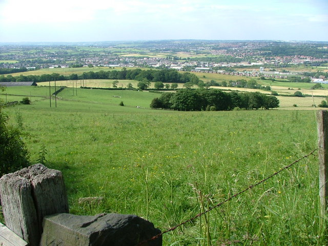the view towards Ravensthorpe