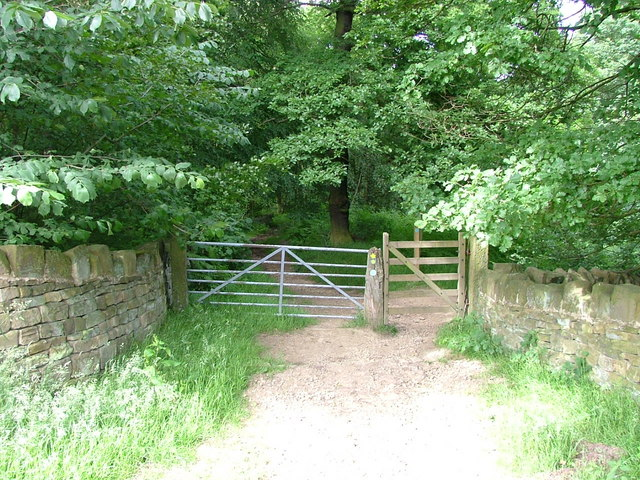 Entrance to Gregory Spring Wood