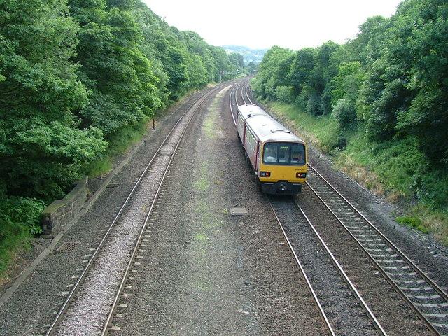 The Leeds (and Wakefield) to Huddersfield Railway Line