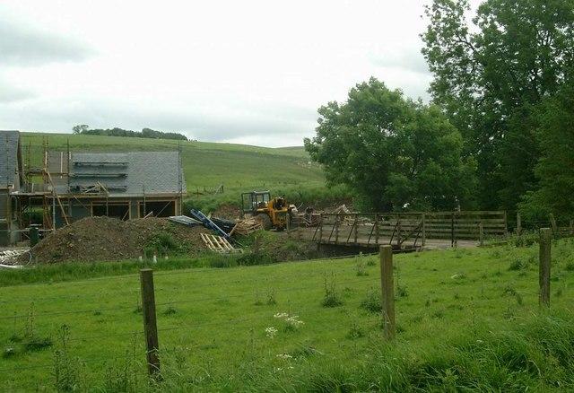 Renovation at Strancleugh