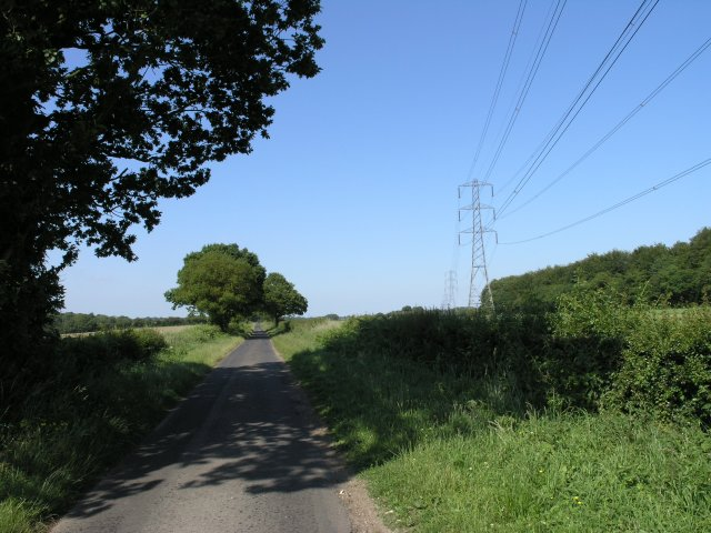 Country Road near Sixmile