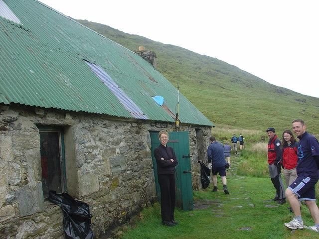 Camban Bothy, Gleann Fionn