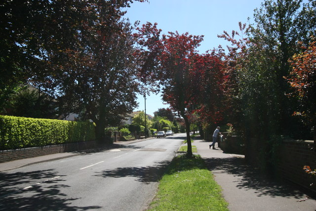 A view down St Clements Hill