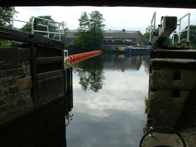 The River Calder & Ledgard Flood Lock