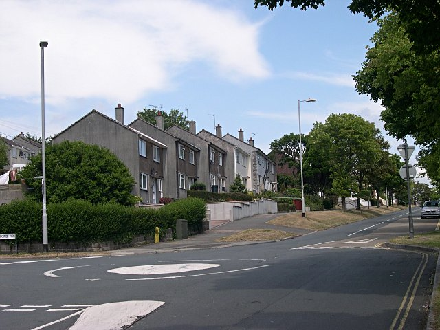 Houses on Southway Drive