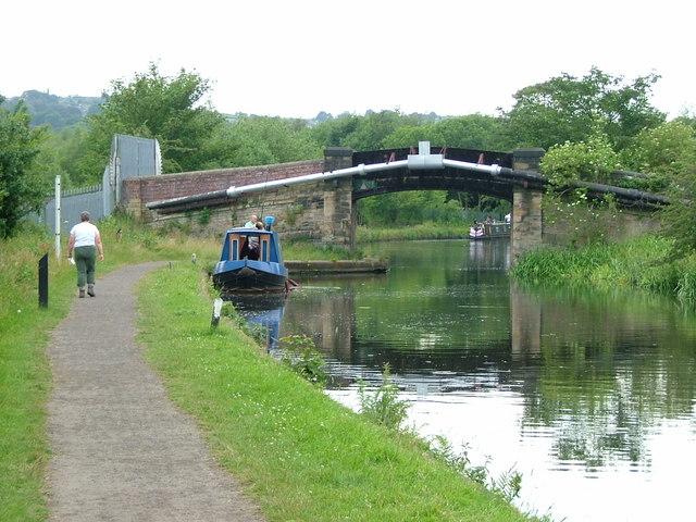 the Calder & Hebble Navigation Canal