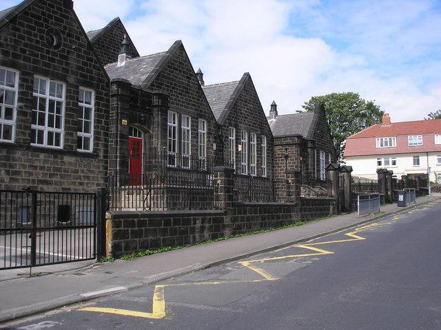 Infants' department, Feather Bank School, Horsforth, Yorkshire