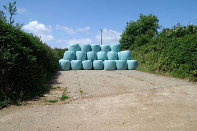 Bales, Lydcott Lane, Widegates