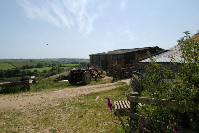 Farm Buildings, Middle Lydcott
