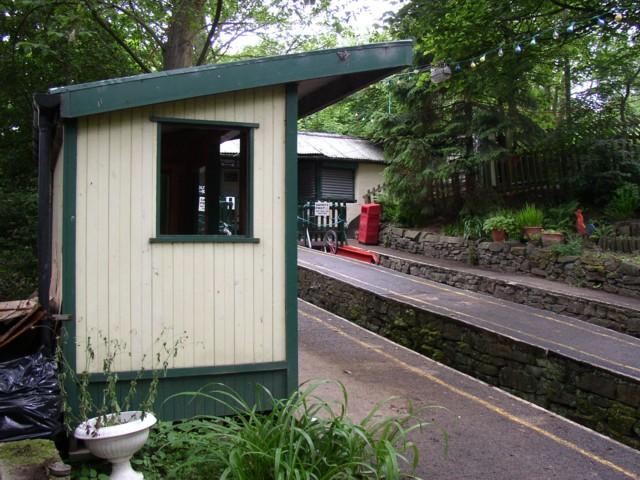 Top station of the Glen Tramway, Baildon