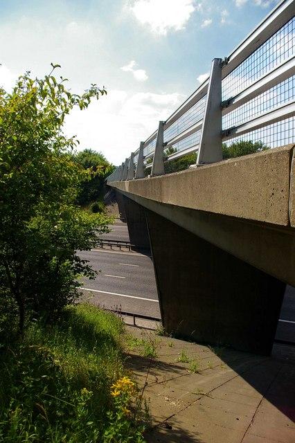 Clement St Bridge over M25