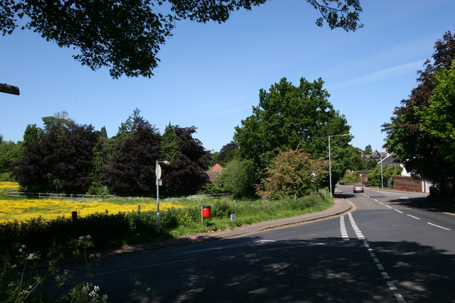 Junction between Oak Lane and Spixworth Road