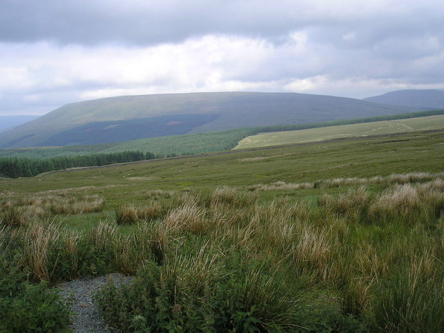 View from the top of the Coal Road