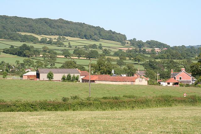 Awliscombe: towards Hunthayes Farm