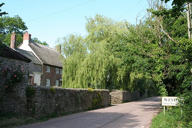 Buckerell: approaching Weston