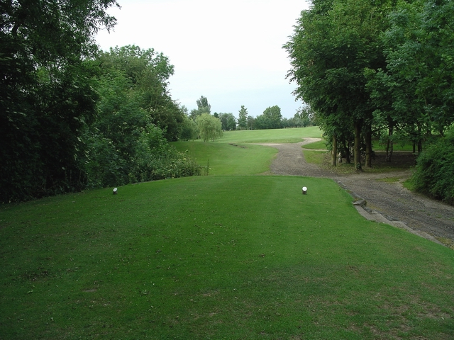 The 8th tee, Ormonde Fields golf course