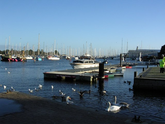 Lymington Harbour.