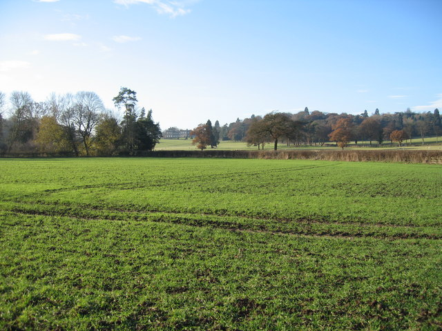 Looking towards Dunstall Hall, Staffordshire