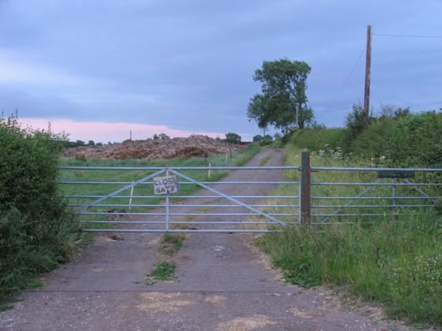 Entrance to Church Site Farm