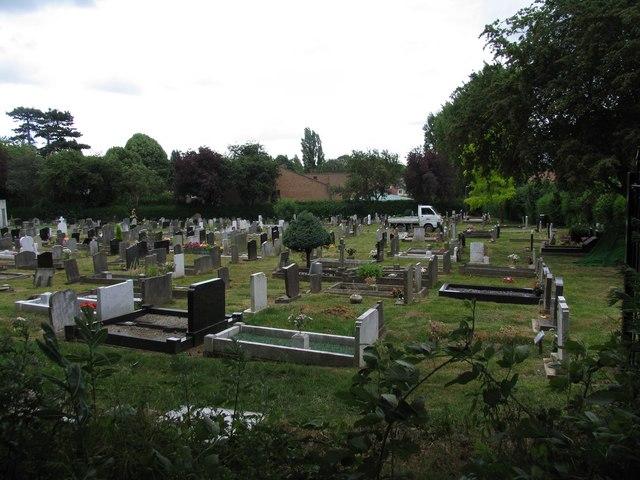 Cemetery in Oadby