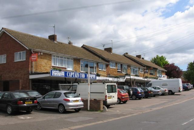 Shops on Rosemead Drive