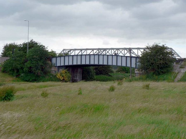 Bridge over the Aire and Calder Navigation, Stanley Ferry