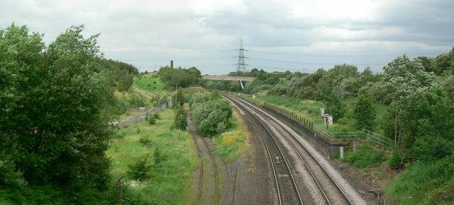 Railway Line, Goosehill